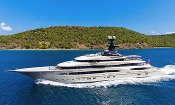 M/Y KISMET largest yacht at Monaco Yacht Show 2018 so far
