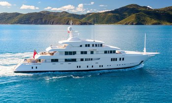 Last chance to charter 62.5m superyacht PARTY GIRL in the Caribbean