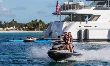 M/Y W Attending Palm Beach Boat Show 2018