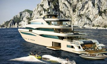 Brand New CRN Superyacht 'Cloud 9' To Launch Soon
