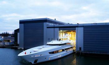 Heesen's 50m Project Triton ready for sea trials