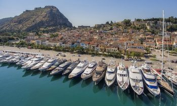 Behind The Scenes At The Mediterranean Yacht Show