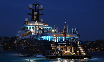 Application granted to sell M/Y EQUANIMITY