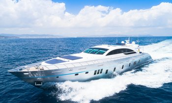 36m motor yacht BLUE JAY now available to charter in Ibiza