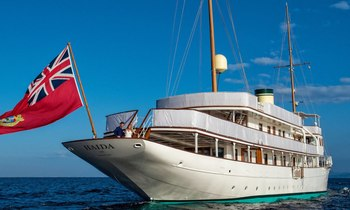 M/Y 'Haida 1929' now open for Greece yacht charters