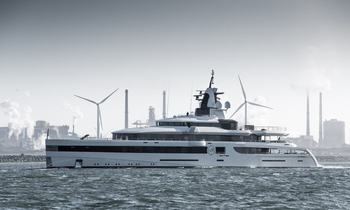 93m Feadship M/Y 'Lady S' nearing completion
