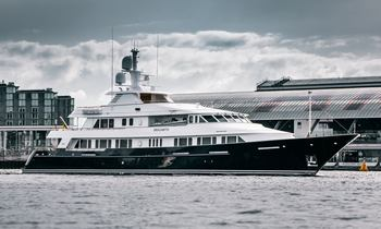 Newly refitted and extended Feadship yacht BROADWATER joins the charter fleet