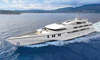 Echo Yachts shows off largest trimaran 'White Rabbit Golf'