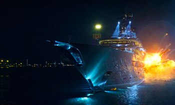 Superyacht KISMET gets blown up in '6 Underground' movie