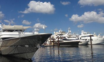 The Charter Yachts of FLIBS 2014
