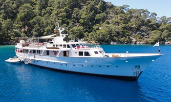 Freshly refitted 35m Feadship motor yacht ALHAMBRA available for West Mediterranean charters