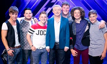 X Factor yacht for Louis Walsh boys