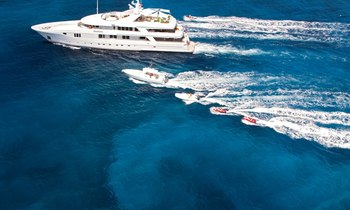 Luxury Yacht RHINO Available for Charter in the Caribbean