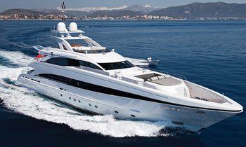 M/Y JEMS Drops Charter Rate in the Mediterranean