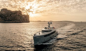 Superyacht 'Delta One' joins charter fleet: Available for Ibiza yacht charters this summer