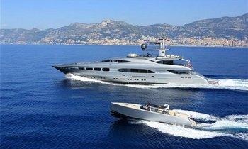 M/Y AUSPICIOUS Refit Showcased at Monaco
