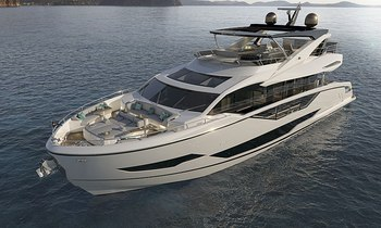 Brand new to the fleet: Sunseeker Quid Nunc now available for charter around the Balearics