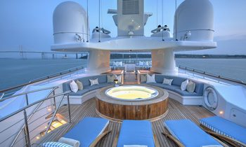 M/Y CYNTHIA opens for holiday charters in the Caribbean