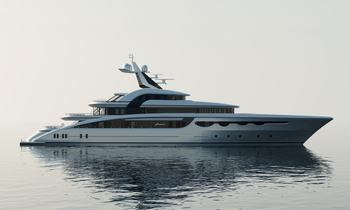 68m superyacht SOARING available for Mediterranean yacht charters in 2020