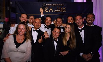 Charter yachts steal the show at International Crew Awards