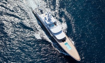 Winter in the Bahamas on board 81m Superyacht AIR