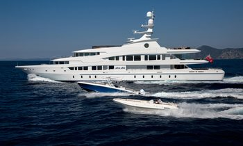 Last chance for Mediterranean charter aboard 63m LUCKY LADY