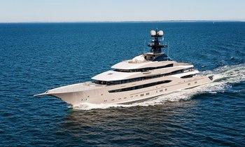 Lürssen Superyacht KISMET Completes Sea Trials