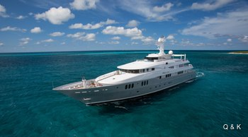 Caribbean yacht charter special: save with 60m superyacht DREAM
