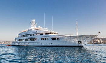 Iconic 62m superyacht FLAG offers last availability for Mediterranean yacht charters