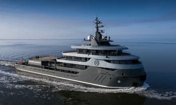 Charter iconic 68m explorer yacht RAGNAR in Madagascar