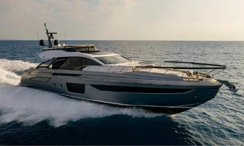 25m motor yacht NEVER GIVE UP: first ever Azimut S8 available for charter