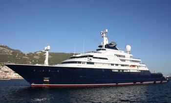 World's largest explorer yacht 126m OCTOPUS joins charter fleet
