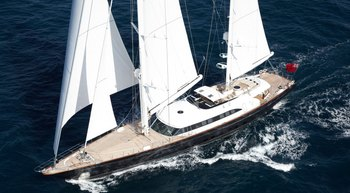 Charter 56m cutting-edge sailing yacht PANTHALASSA this winter in the Caribbean
