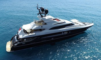 Last chance for Mediterranean yacht charter aboard 41m THE SHADOW