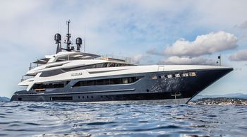 Last chance to book 55m SEVERIN'S for Balearics charter