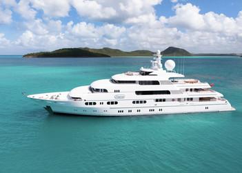 Titania yacht charter in Abu Dhabi