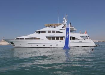DXB yacht charter in Abu Dhabi