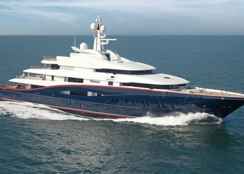 Nirvana yacht charter in Monaco