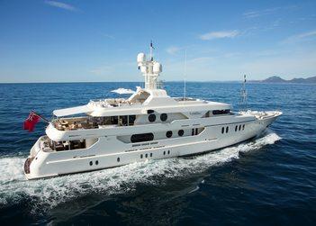 Mercury yacht charter in Cyclades Islands