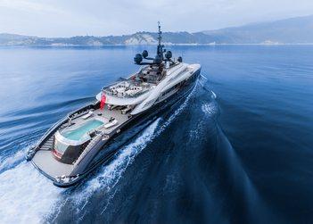 Okto yacht charter in St Jean Cap Ferrat