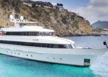 Alcor yacht charter in Spain