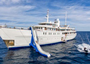 Sherakhan yacht charter in Antarctica