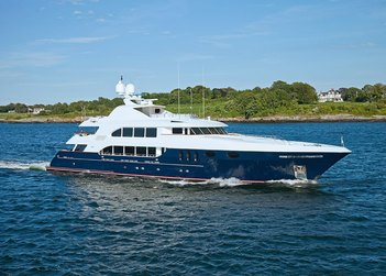 Alessandra yacht charter in New England
