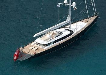 Red Dragon yacht charter in British Virgin Islands