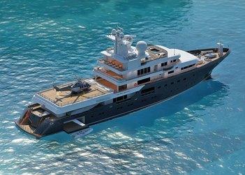 Planet Nine yacht charter in Mediterranean
