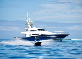 Ultimate Lady yacht charter in French Polynesia