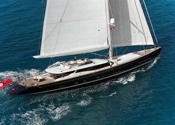 Prana yacht charter in Tobago Cays