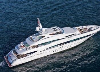 Inception yacht charter in St Jean Cap Ferrat