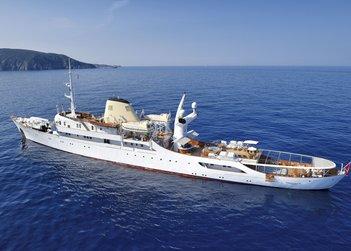 Christina O yacht charter in Cuba