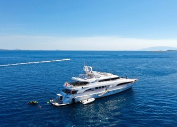 Lady G II yacht charter in Dodecanese Islands